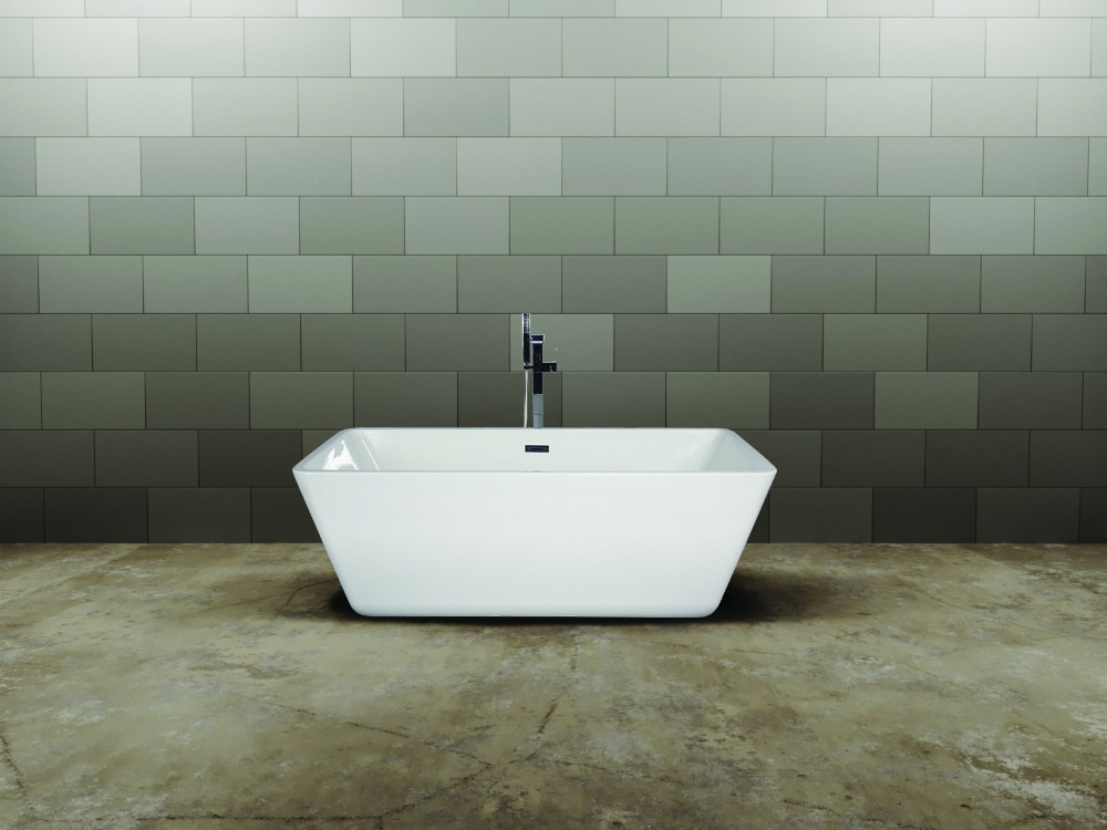 qube freestanding bath