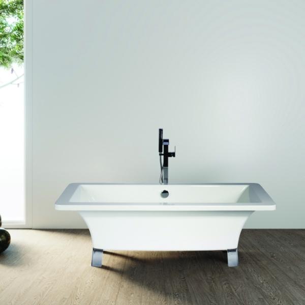 Square Freestanding Bath